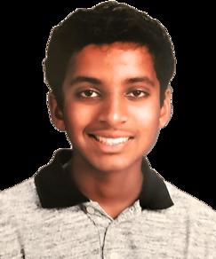 picture of spellers number 7, Dhruv Kaderu