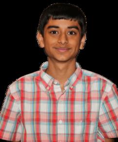 picture of spellers number 107, Krutik Patel