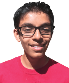 picture of spellers number 256, Rishi Padmanabhan
