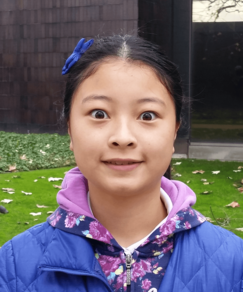 picture of speller number 18, Grace Liang