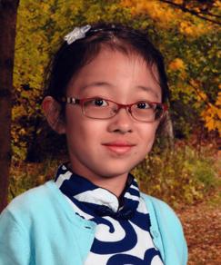 picture of speller number 44, Lauren Guo