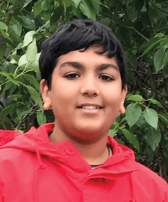 picture of speller number 61, Arsh Shah