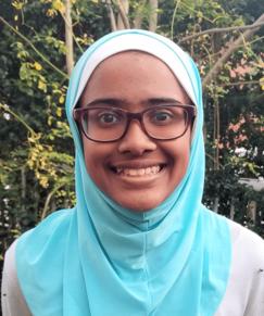 picture of speller number 68, Ruba Hidayath