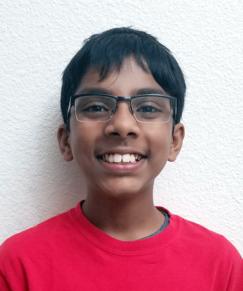 picture of speller number 70, Rishik Gandhasri