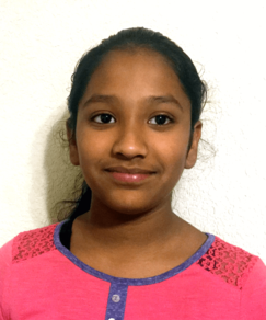 picture of speller number 99, Pavani Chittemsetty