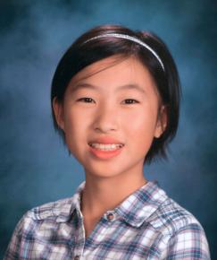 picture of speller number 100, Annie Huang