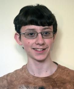 picture of speller number 128, Daniel Larsen