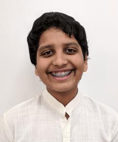 picture of speller number 141, Sukesh Kamesh
