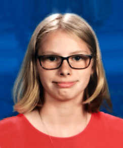 picture of speller number 164, Caitlin Pooler