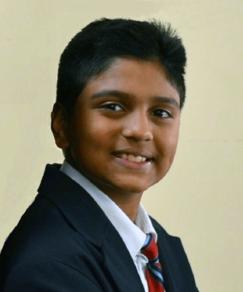 picture of speller number 220, Manish Sriram