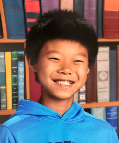 picture of speller number 233, Zekey Huang
