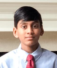 picture of speller number 369, Akhil Madala