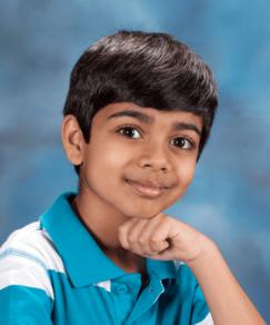 picture of speller number 459, Akash Vukoti