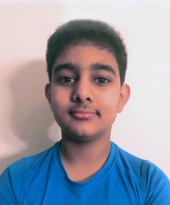 picture of speller number 479, Vishal Vinjamuri