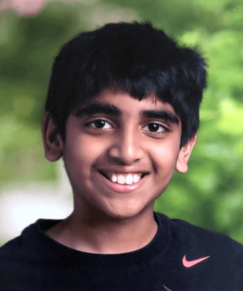 picture of speller number 484, Abhijay Kodali