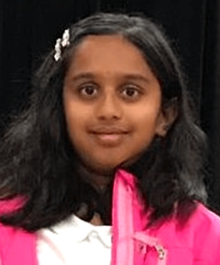picture of speller number 72, Chaitra Thummala