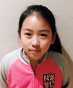 picture of speller number 108, Nicole Yang