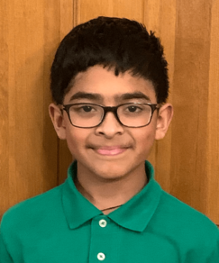 picture of speller number 157, Aryan Sant
