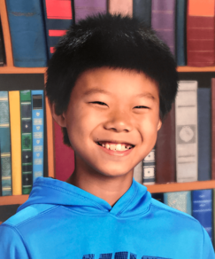 picture of speller number 249, Zekey Huang