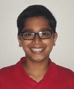 picture of speller number 378, Malcolm D'Souza