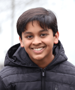 picture of speller number 466, Eshaan Mani