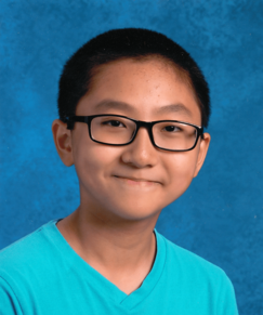 picture of speller number 477, Jerry Huang