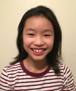 picture of speller number 557, Jenna Ng